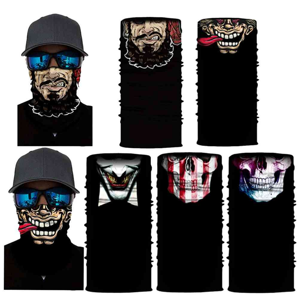 Windproof And Sun Protected Face/neck/head Bicycle Mask