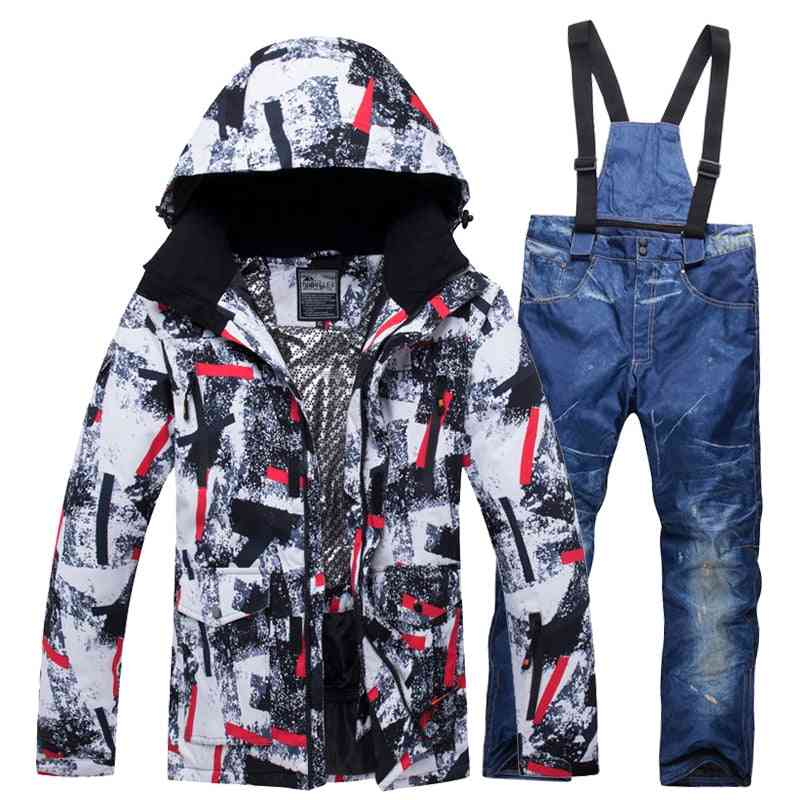 Men And Women, Snowboard Hiking Ski Suits, Clothes Set