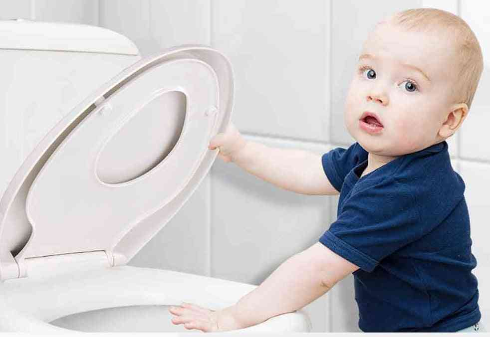 Child Adult Toilet Seat -with Potty Training Cover