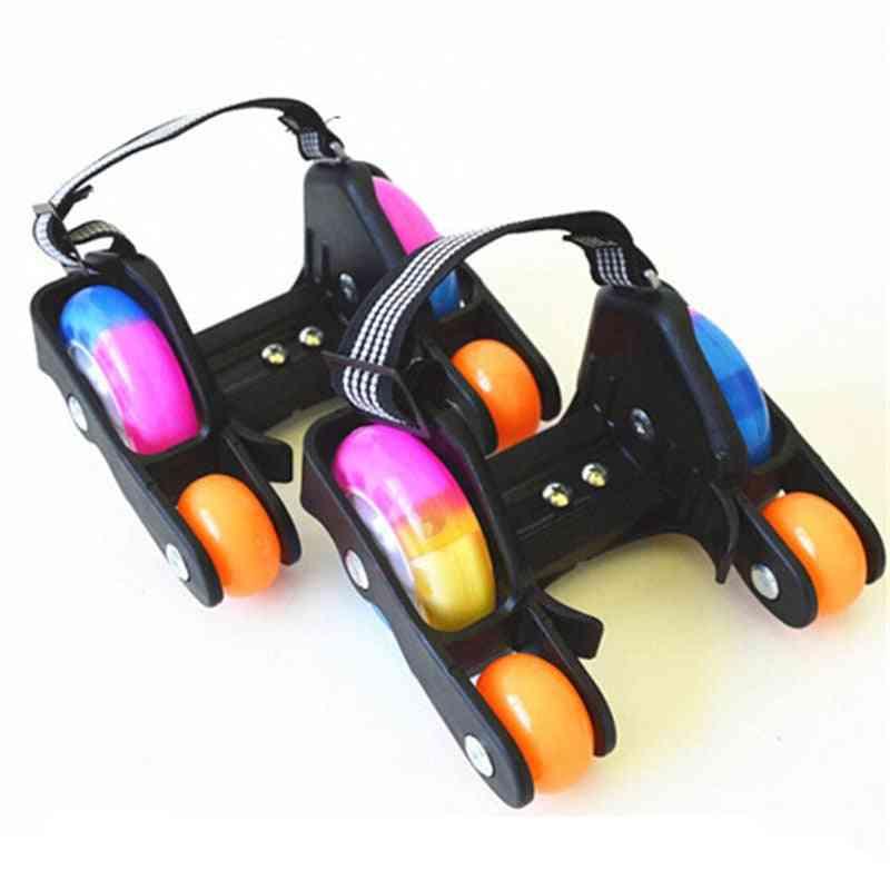 Led Flashing Roller Skate Shoes Wheel
