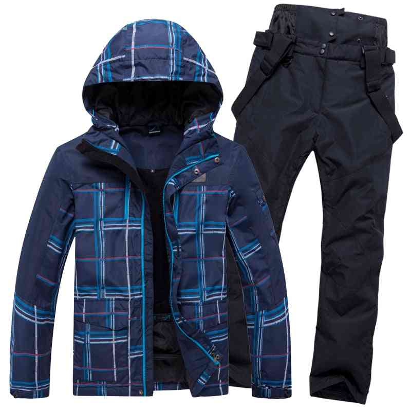 Winter Warm Waterproof Outdoor Sports Snow Jackets And Pants