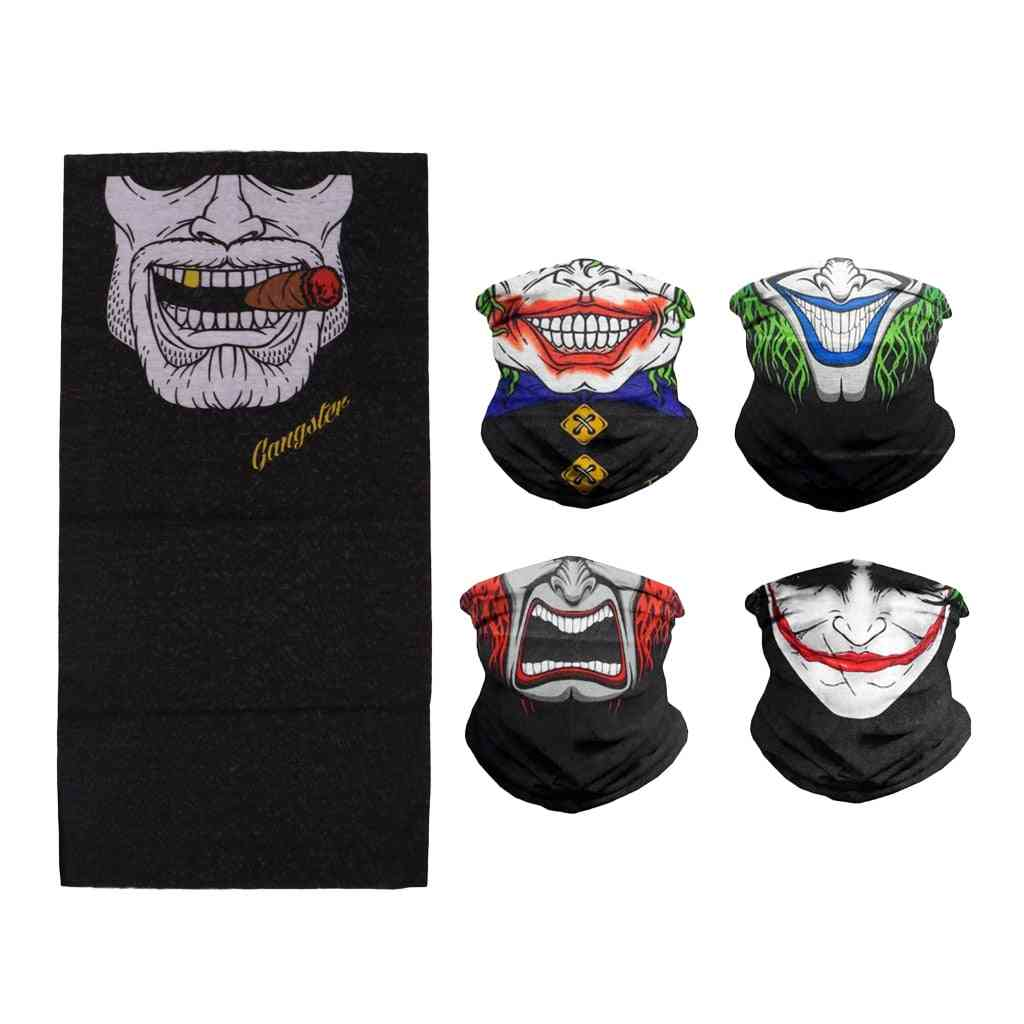 Outdoor Sport Windproof Tube Neck Scarf, Face Mask
