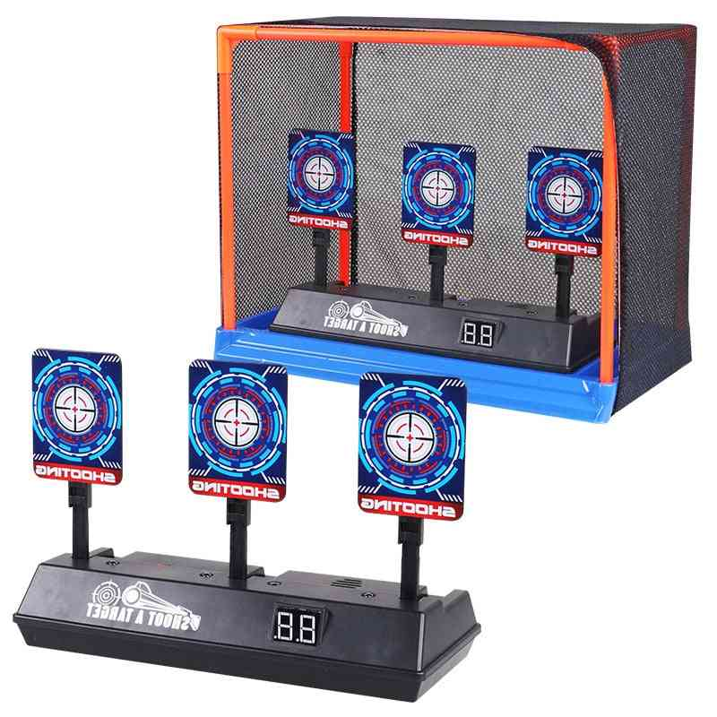 High Precision Scoring Auto Reset Electric Target For Nerf Gun Toy