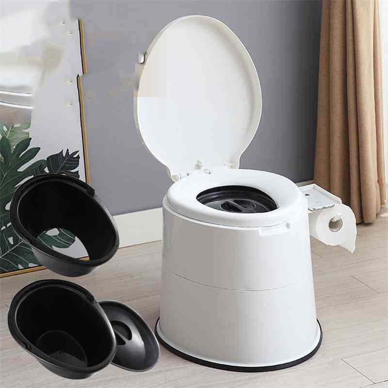 Portable, Stable, High Strength Toilet Chair For Handicapped