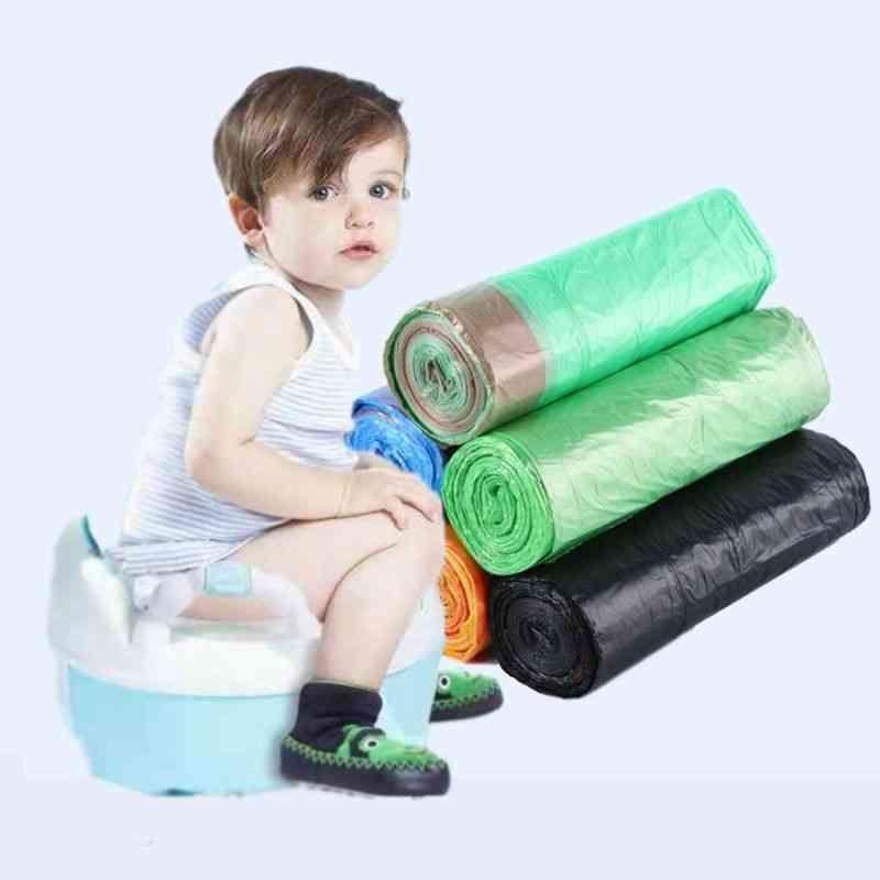 Universal Potty Training Toilet Seat Bin Bags