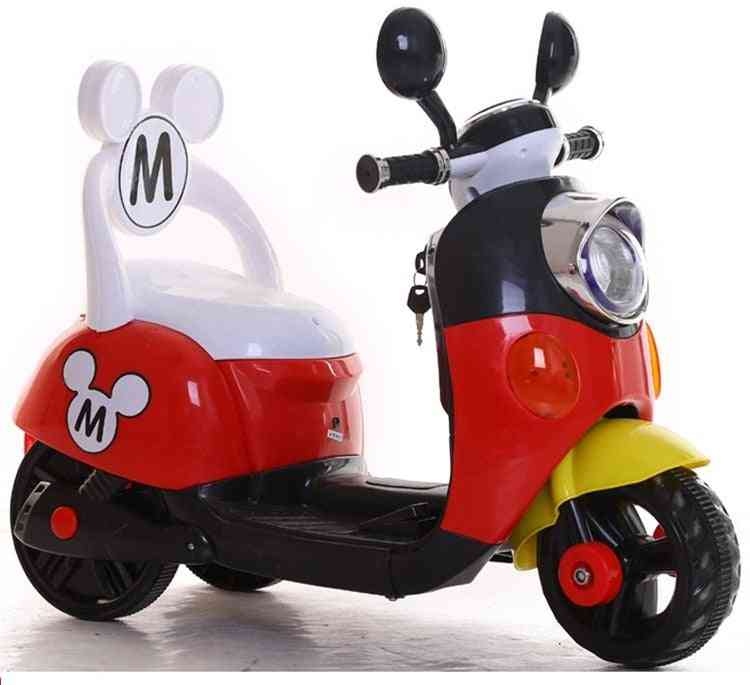 Mickey Ride On Electric Toy Motorcycle For 1-5 Years Old Baby