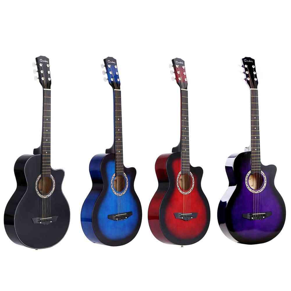 Ergonomic Design Acoustic Guitar