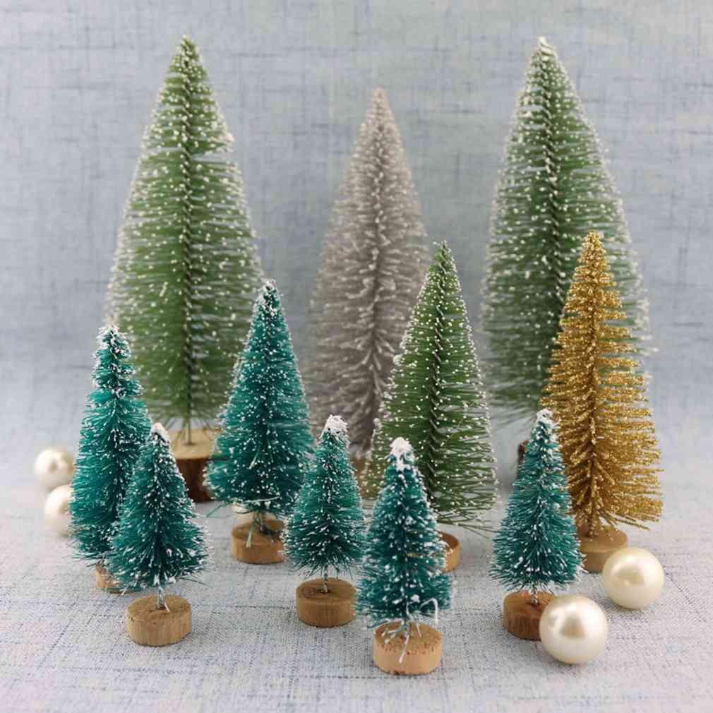 Mini Christmas Tree, Ornaments Table Decorations
