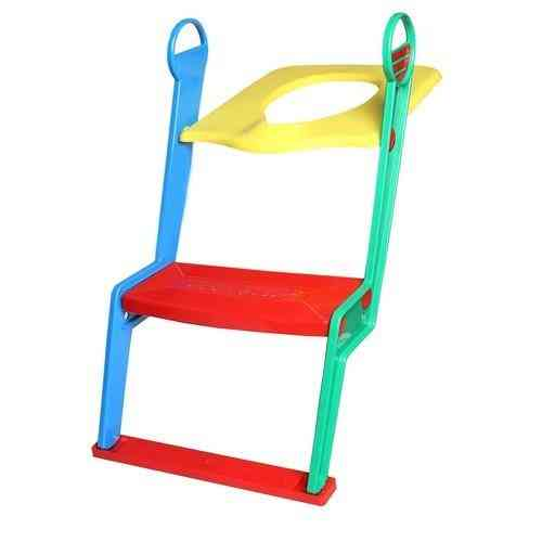 Adjustable Toilet / Potty Seat With Ladder