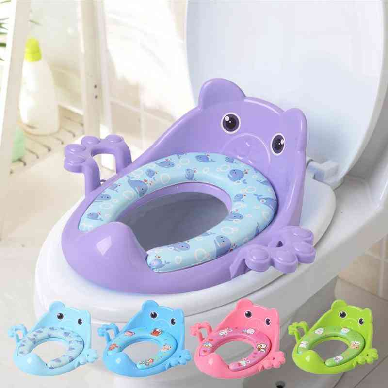 Removable Baby Toilet Training Potty Seats With Armrests And Cushion