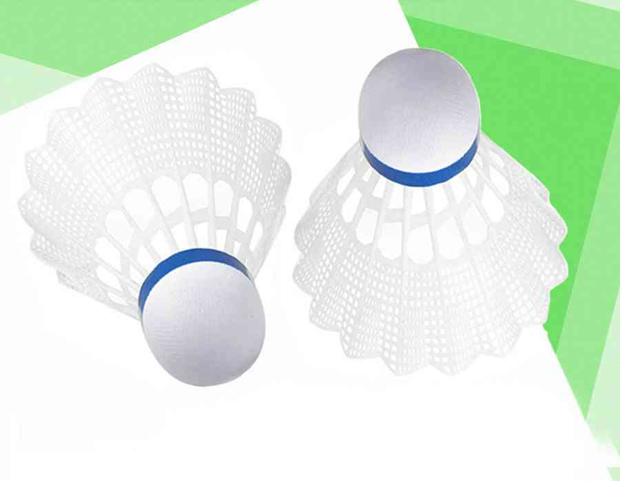 Nylon Shuttlecock With Fiber Ball Head For Badminton Outdoor Training