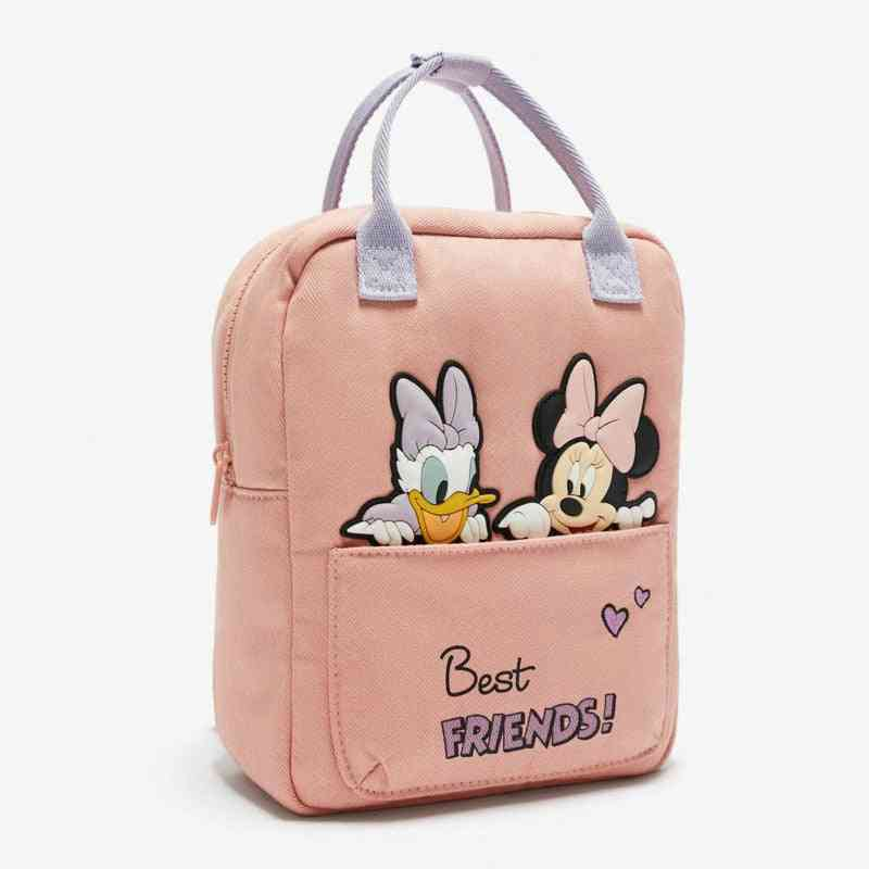 Children's Cartoon Bag, Mickey Mouse Pattern Backpack For & Girl