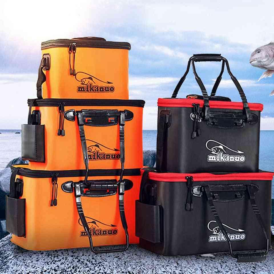 Zipper Fishing-bucket -folding Eva Bag Tool