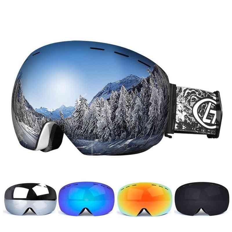 Double Layers, Uv Resistant Snowboard Eye Wear