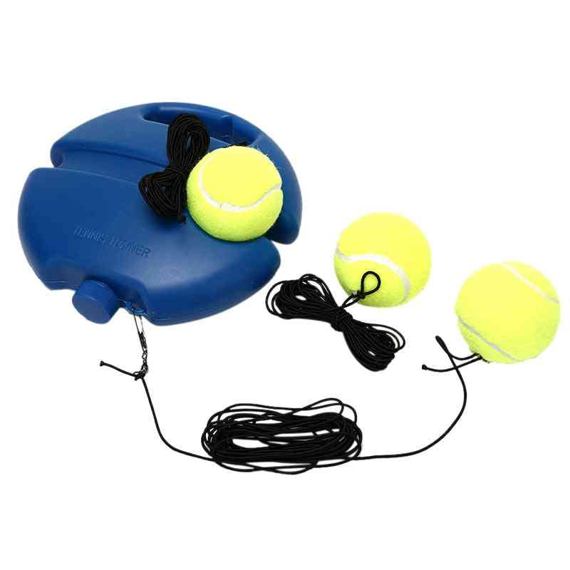 1set Of Tennis Training Tool-rebound Ball Trainer