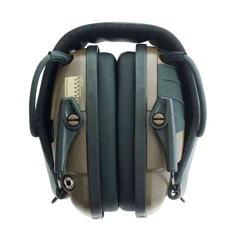 Noise Reduction Electronic Earmuffs For Outdoor Hunting, Shooting-tactical Headphones