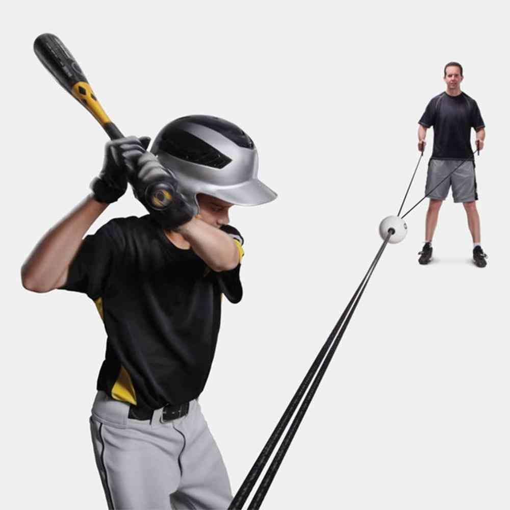 Baseball Batter Trainer Muscle Strike Exercise Artifact Level Improvement Tool
