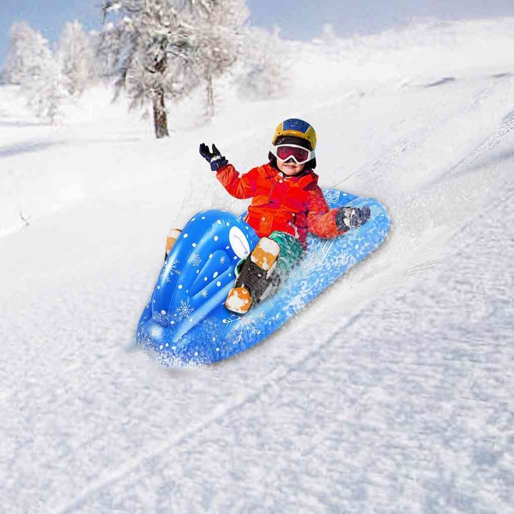 Inflatable Snow Tube, Large Snowboat Toy
