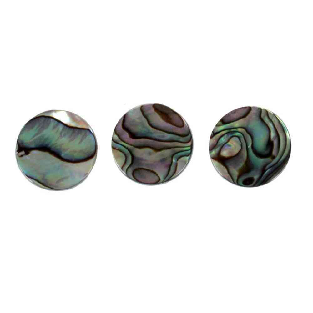 Finger Button, Trumpet Valve Cap, Abalone Shell For Trumpet Repairing, Instruments Parts Accessories