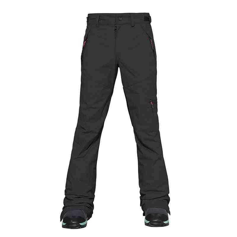 Women's Waterproof Winter Warm Trousers Overalls Thermal Snowboarding Skiing Pants