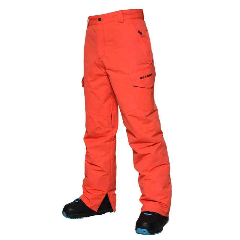 Men Winter Warm Snowboarding Skiing Pants