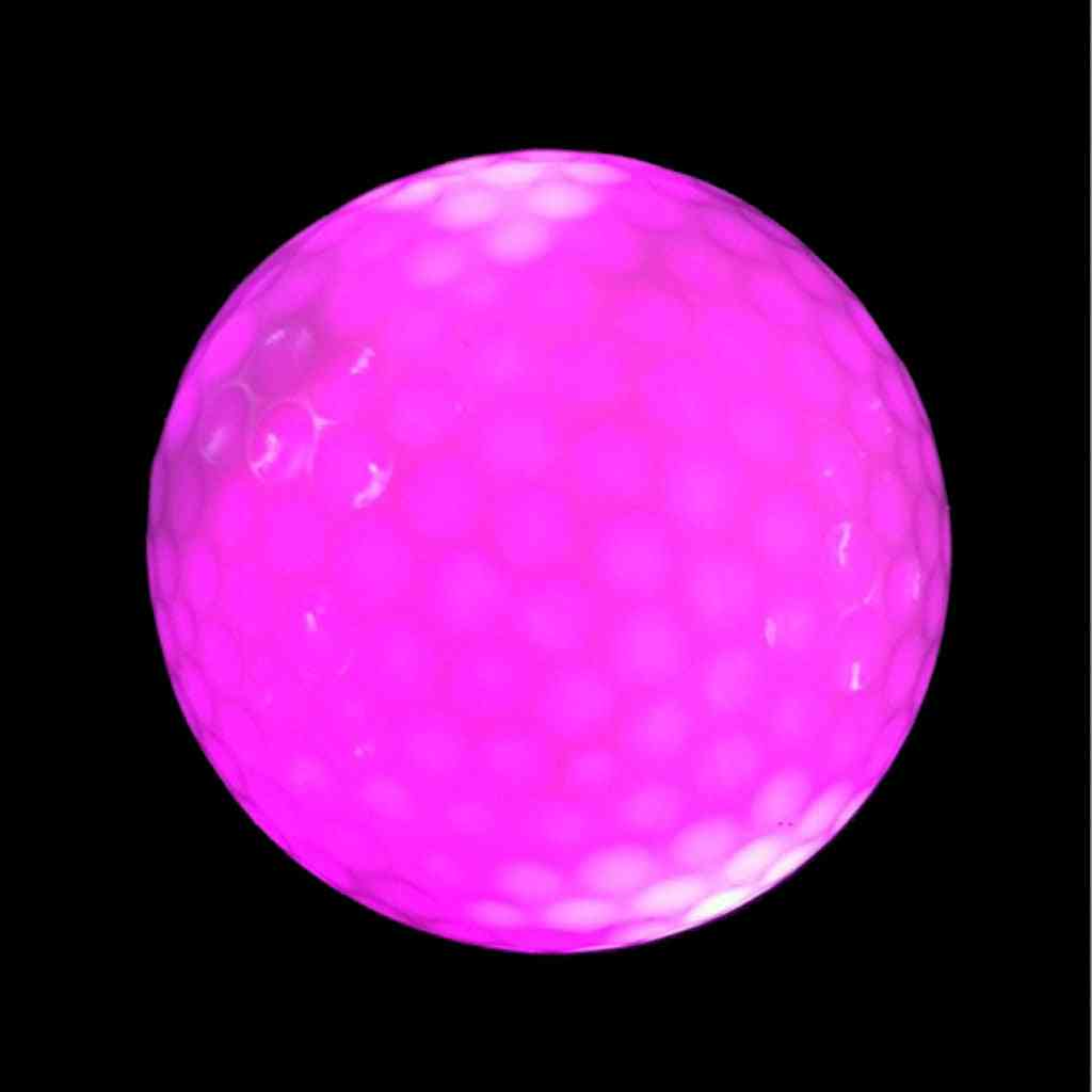 Synthetic Rubber Golf Led Luminous Ball