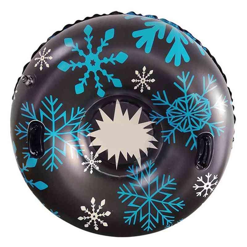 Inflatable Ski Circle Of Snow Tube Skiing - Ski Winter Sledges Skiing