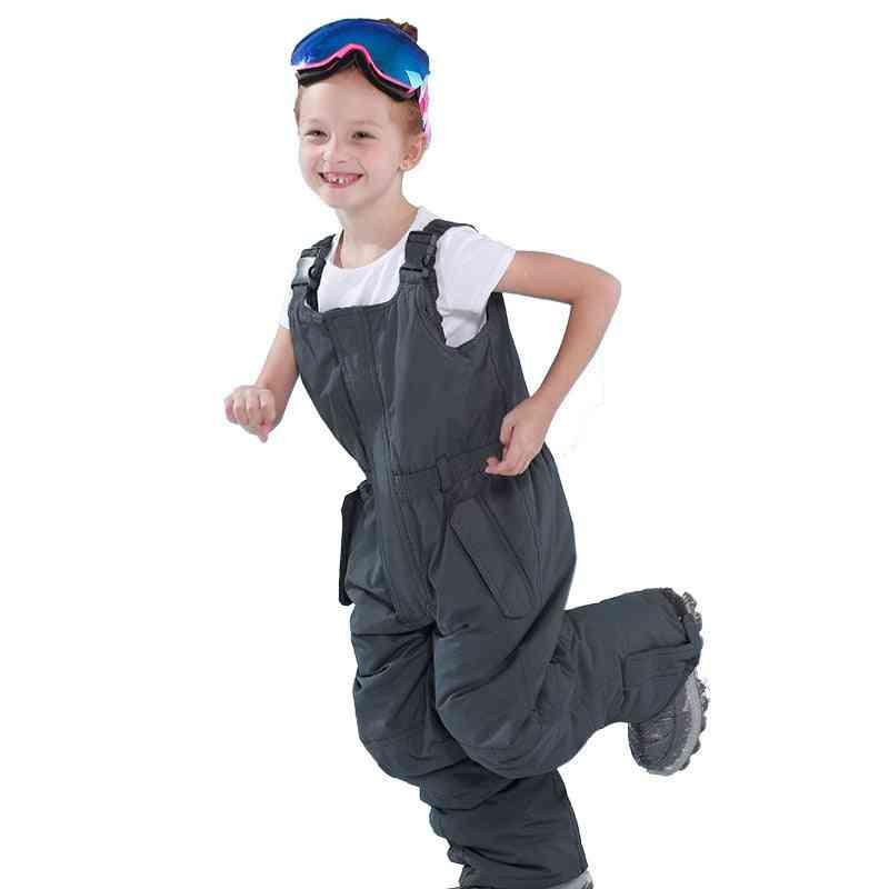 Children's Waterproof, Windproof Warm Ski Suit