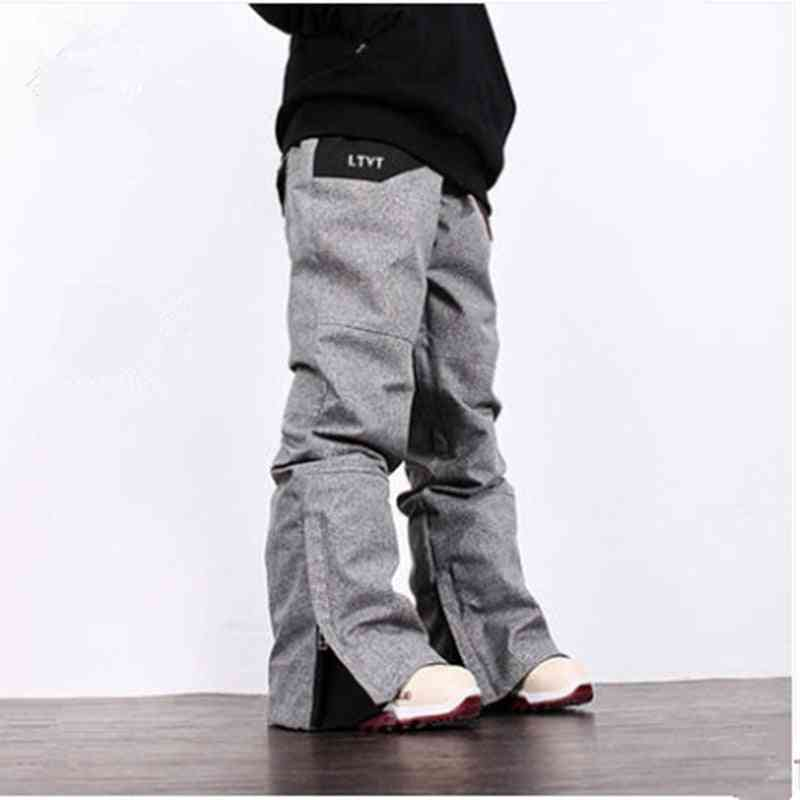 Women And Men Professional Winter Snowboard Pants Outdoor Sports Ski Trousers