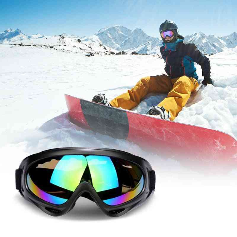 Winter Windproof Goggles Snowboard Skiing Glasses