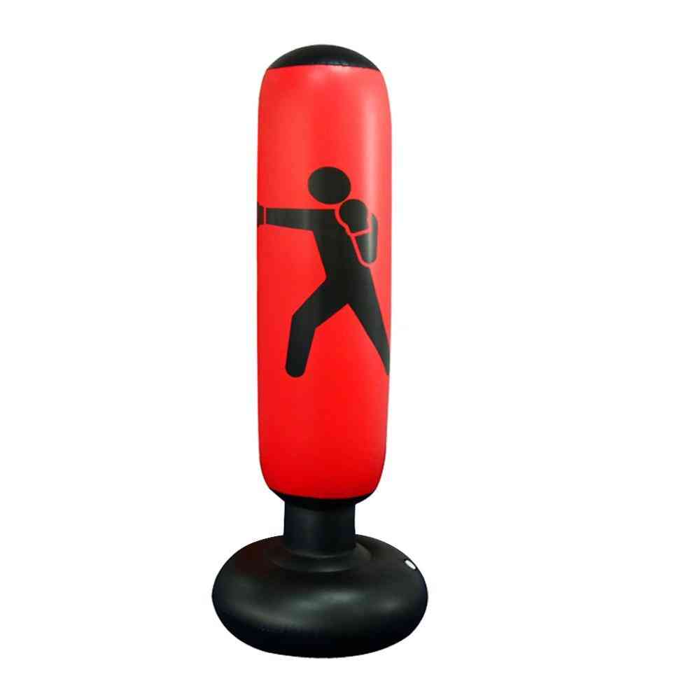 Pvc Thickening Boxing Pillar Tumbler Fight Column Punching Bag - Fitness Tool