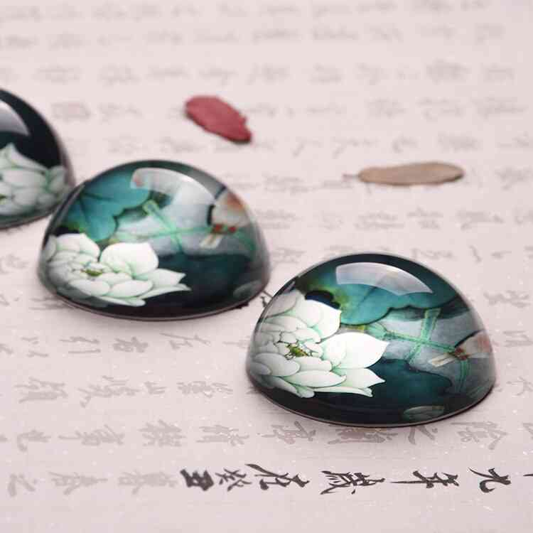 Chinese Paperweight Class-lotus Paperweight Calligraphy/penholder