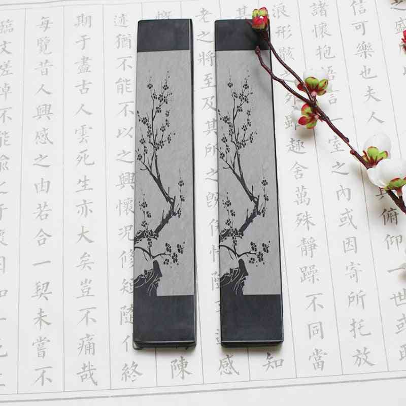 Chinese Calligraphy Special Stone Paperweight, Classical Natural Stone Paperweight