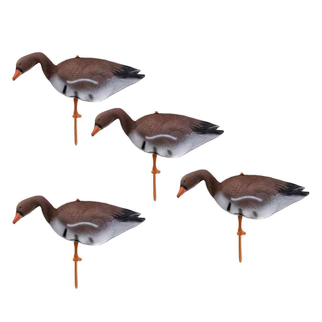 Goose Hunting Decoy Target, Garden, Lawn Decor Scarer, Outdoor Bird Flyer, Pond Ornaments Simulation