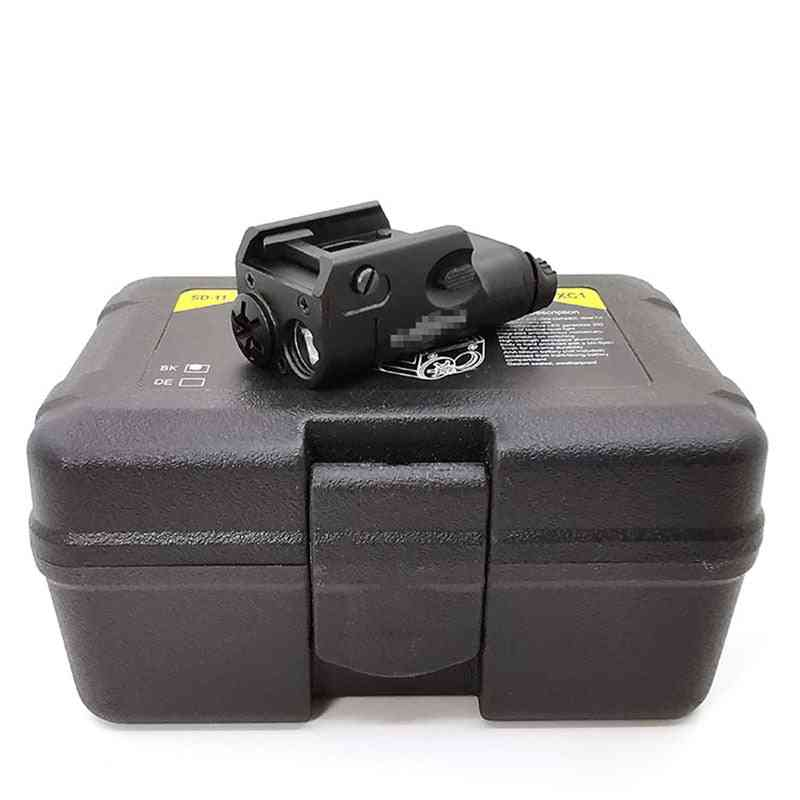 Tactical Weapon Light, Compact Pistol Flashlight Led, Airsoft
