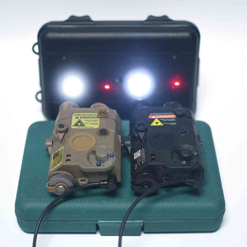 Airsoft Red Dot Ir Laser Sight Tactical Weapon Flashlight, Hunting Scout Light