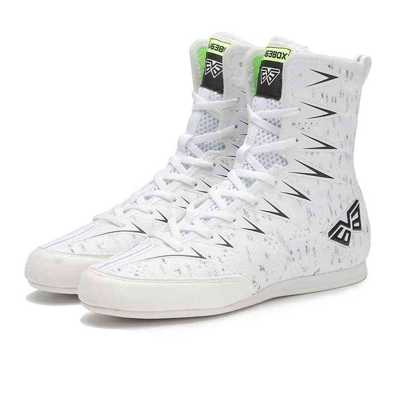 Non-slip Boxing/wrestling Shoes-breathable Sneakers