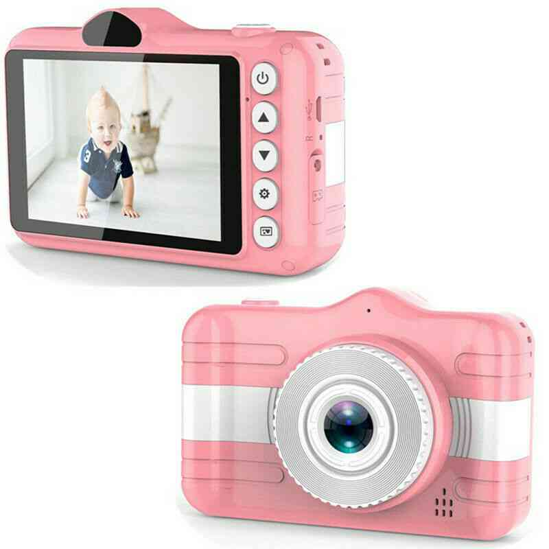 Kids Mini Camera, Video Camcorder Toy, Cute Rechargeable Digital For Educational Toy