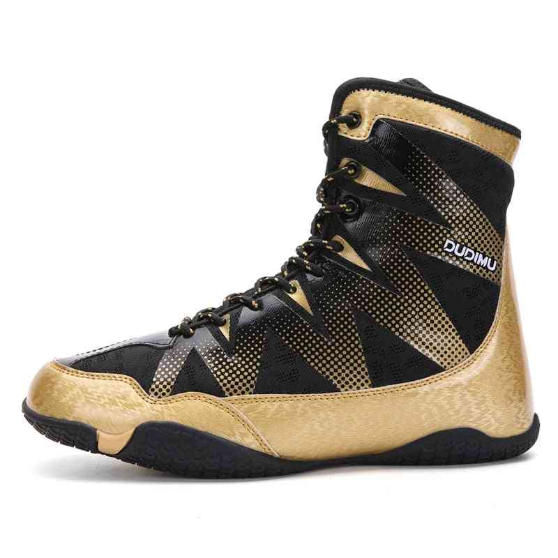 Professional Fighting Wrestling Shoes - Men Anti Slip Boxing Sneakers
