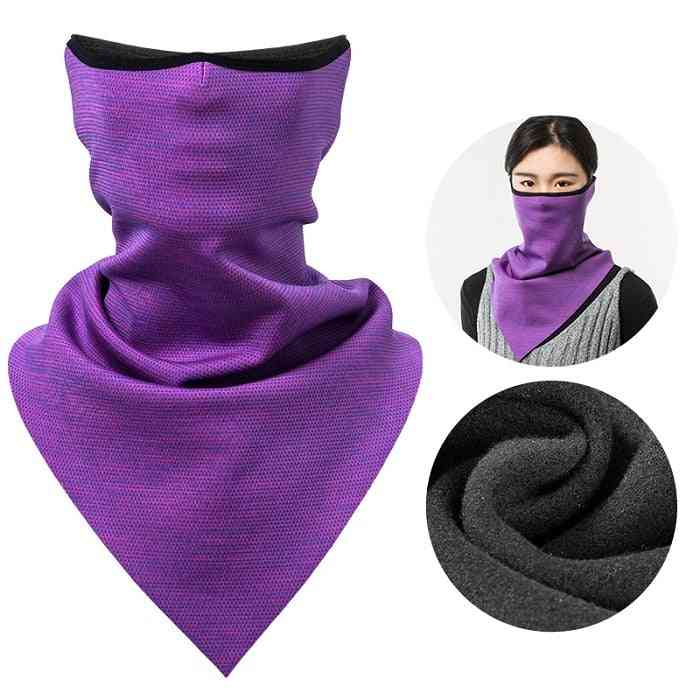 Winter Windproof Warm &thermal Breathable Ski Mask Scarf For Cycling Running Snowboard Motorcycle