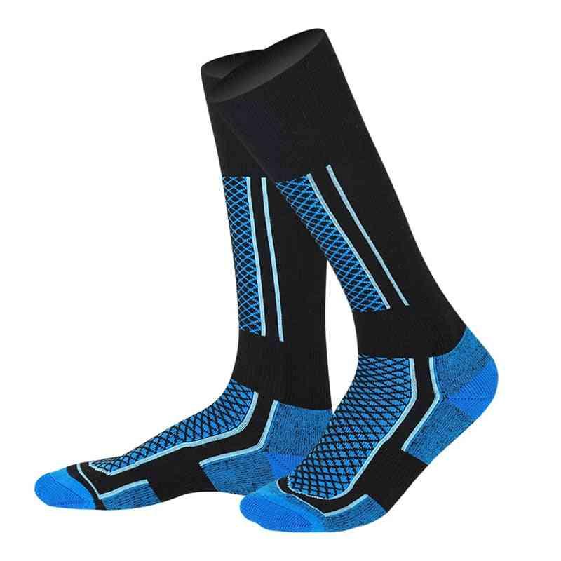 Winter Ski Sports Socks Women Man Thermal Long Warm Breathable Snow Sports Socks