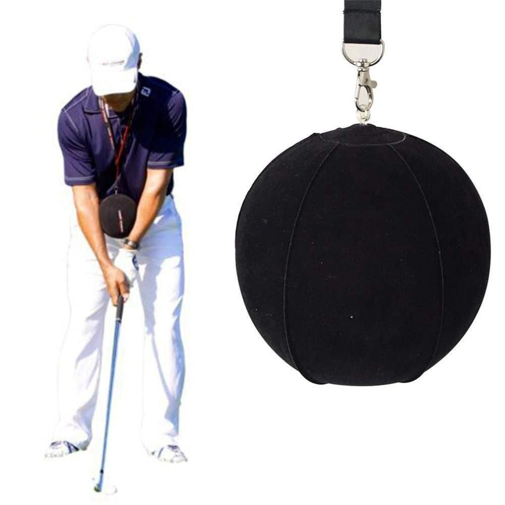 Golf Swing Trainer Ball With Smart Inflatable, Assist Correction Training