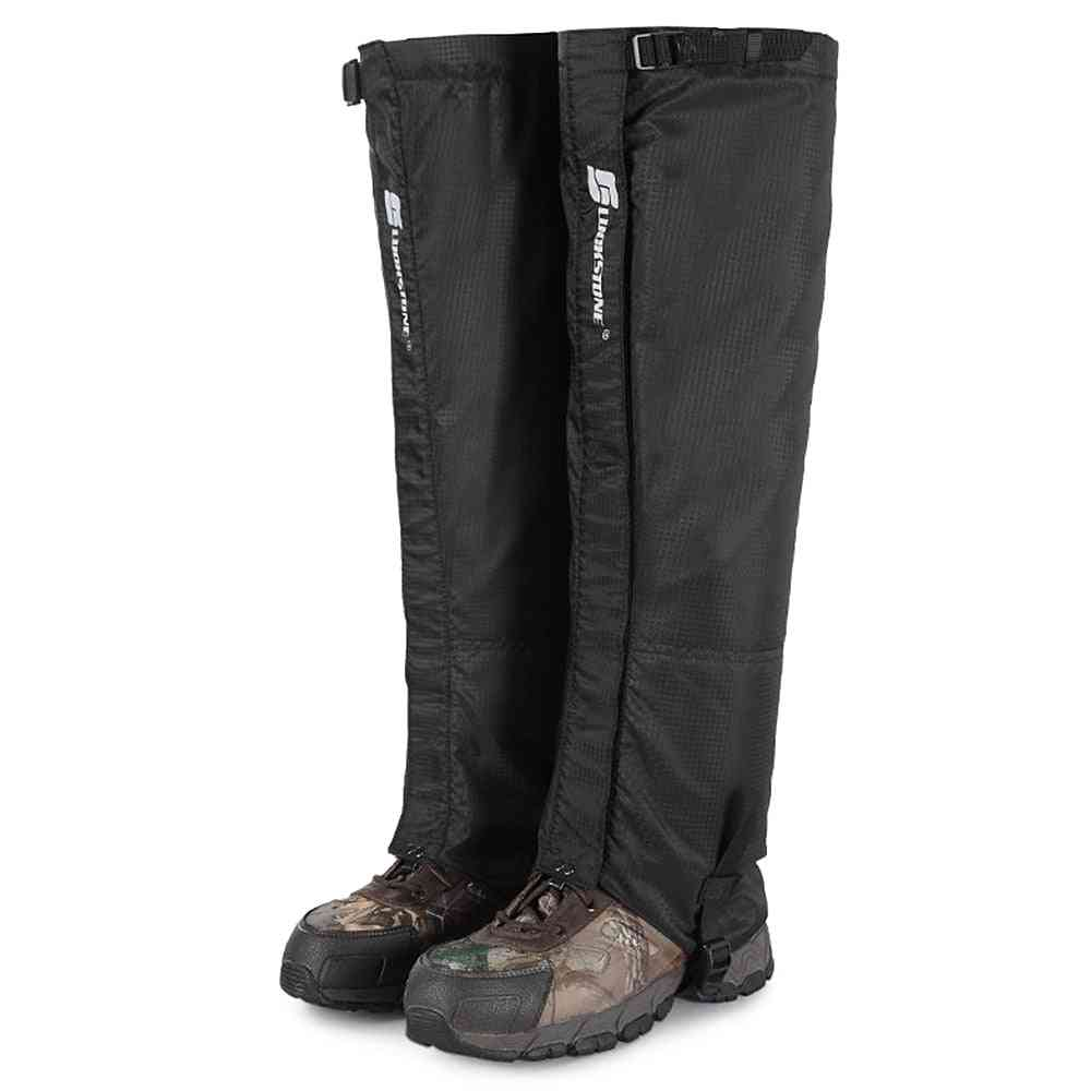 Long Gaiters Thermal Water-resistant Legs Protection Cover Skiing Snowboarding Winter Boots