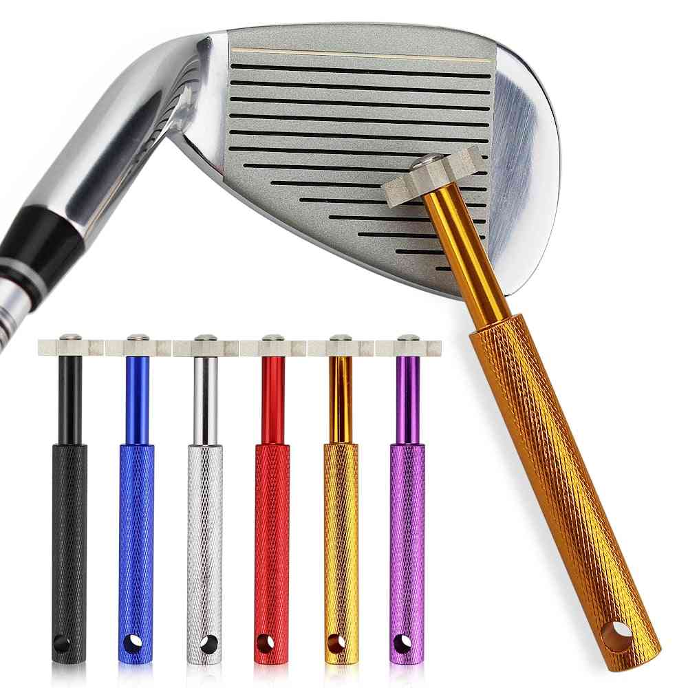 Golf Club Grooving, Head Strong Alloy Wedge, Sharpening Tool