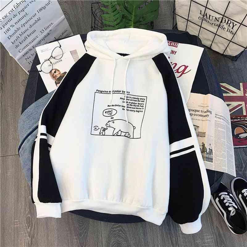 Cute Printed, Spring/autum Hoodies- Long Sleeve Pullover Sweatshirt