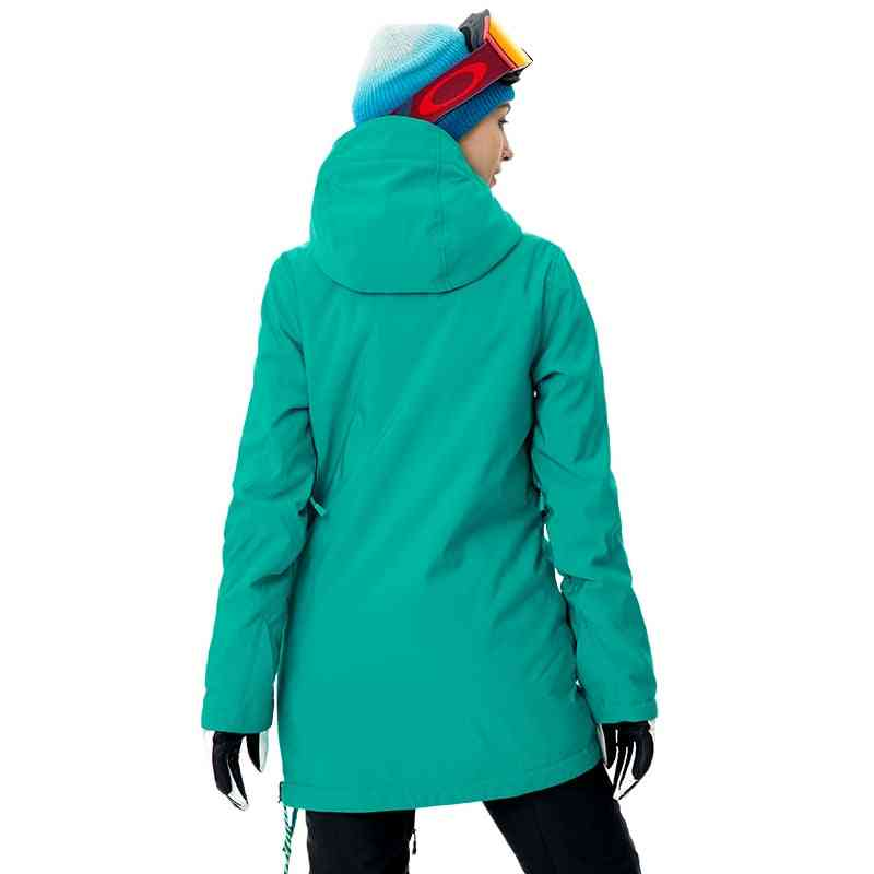 Women Mid-thigh Jackets For Winter Outdoor Sports
