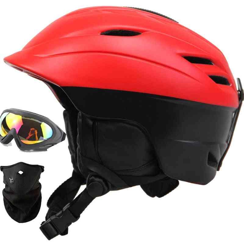 Man & Women Ski Helmet, Safety Skateboard Helmets Equipment