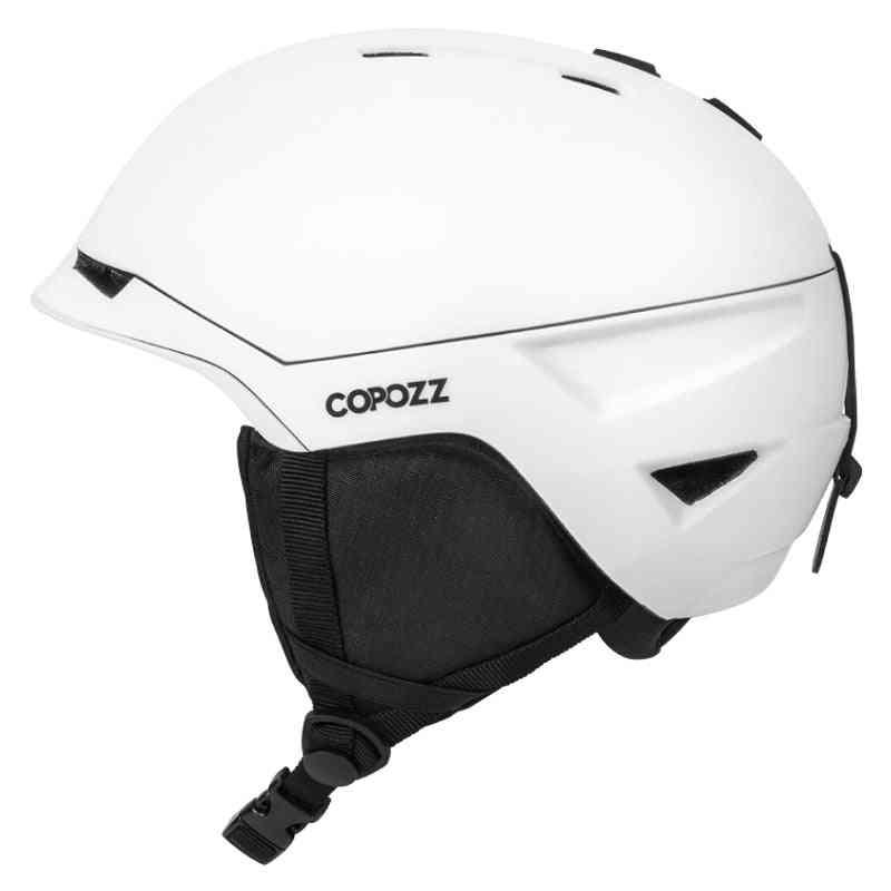 Men-women Detachable Liner Ski Helmet, Skiing Helmet For Adult Snow Safety