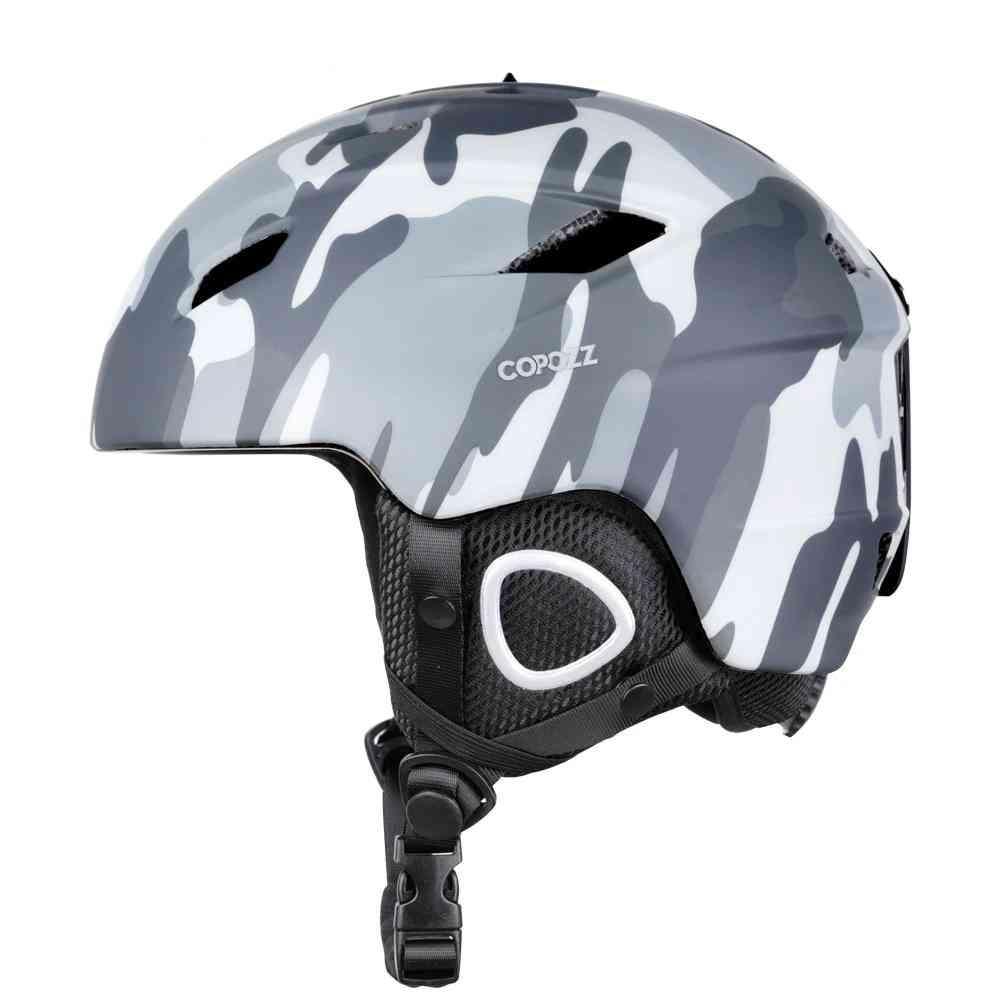 Ski Helmet With Safety Certificatesnowboard Helmet Cycling/skiing Snow Men-women