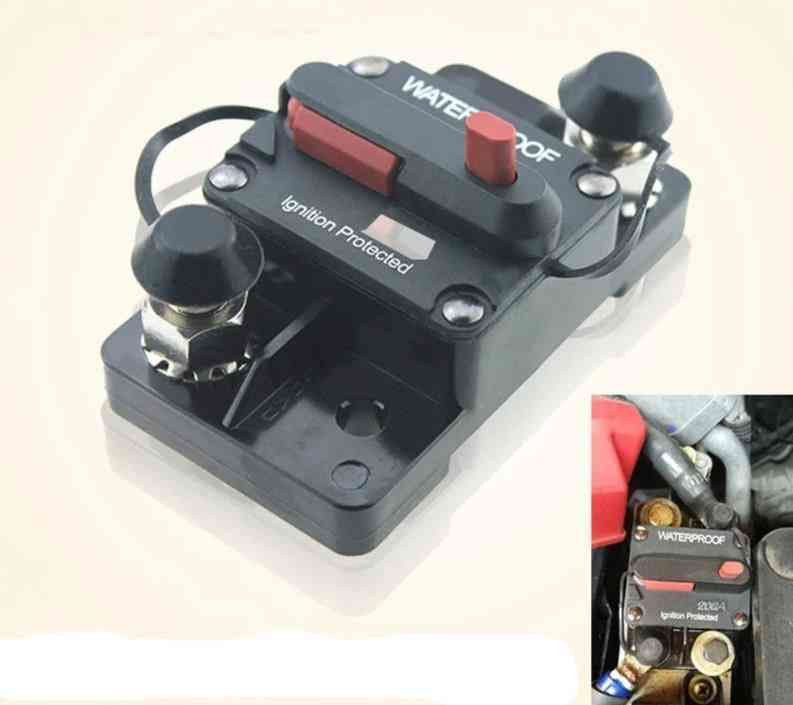 Waterproof Manual Trip Switch-quick Circuit Breaker For Auxiliary Dc Electrical System
